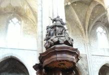 Pulpito santa maddalena Basilica Saint Maxim
